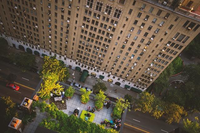 Green urban environment